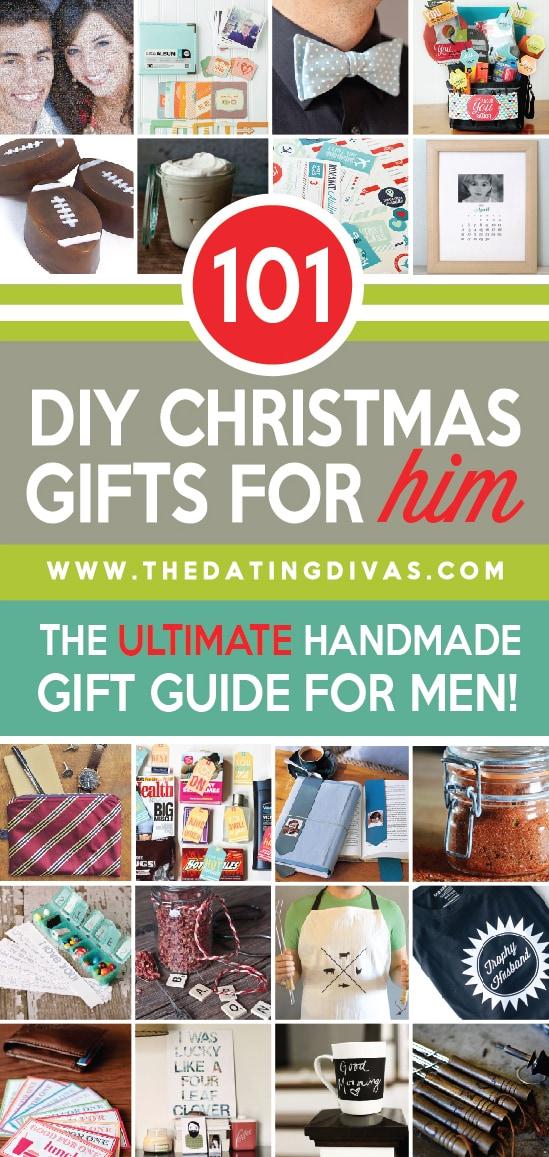 homemade christmas gifts for him