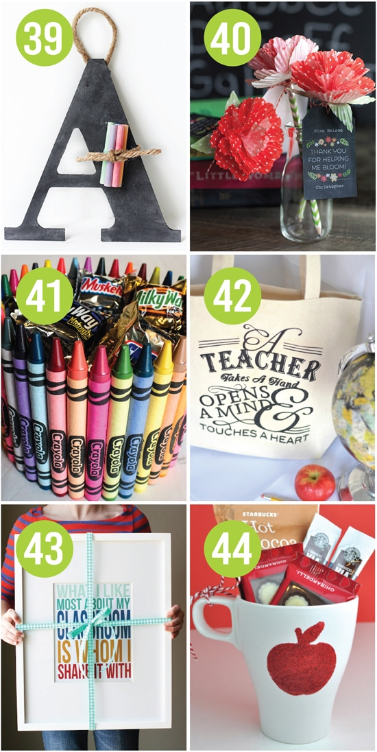 Quick And Easy Teacher Appreciation Gifts And Ideas The