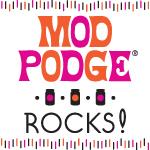 Mod Podge Rocks