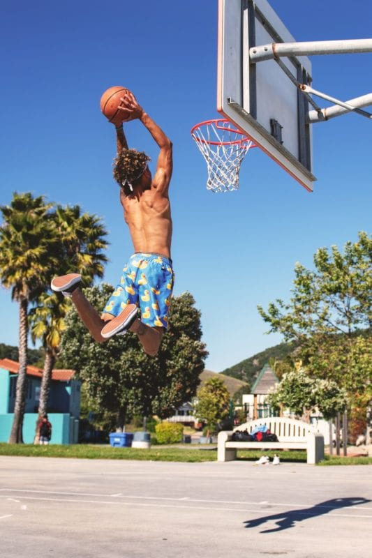Man playing basketball the dating truth