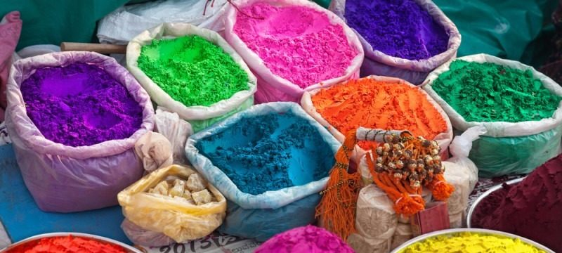 The Festival of Holi: Traditions, Colors, Tastes, Bonfires, and Love  (Live)