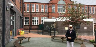 Hatim Kapacee at Heald Place Primary