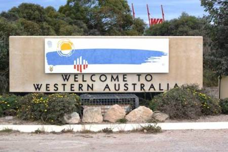 Eucla Frontiere welcome to Western Australia