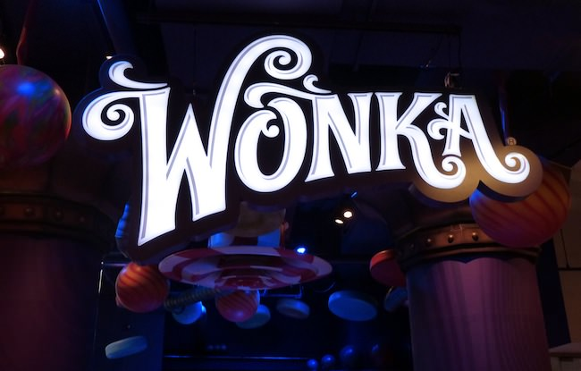time square willie wonka