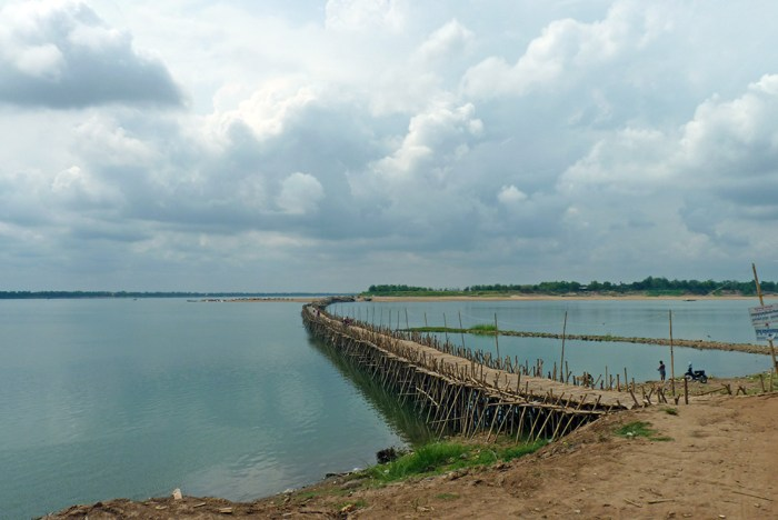 Kampong-Cham-Bambou-Bridge