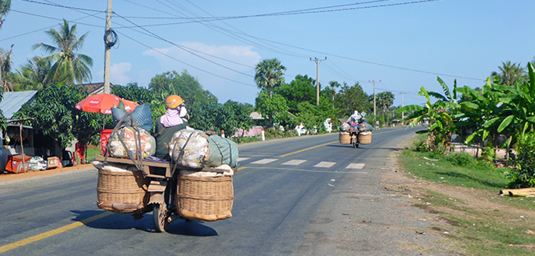 Routiers Cambodge
