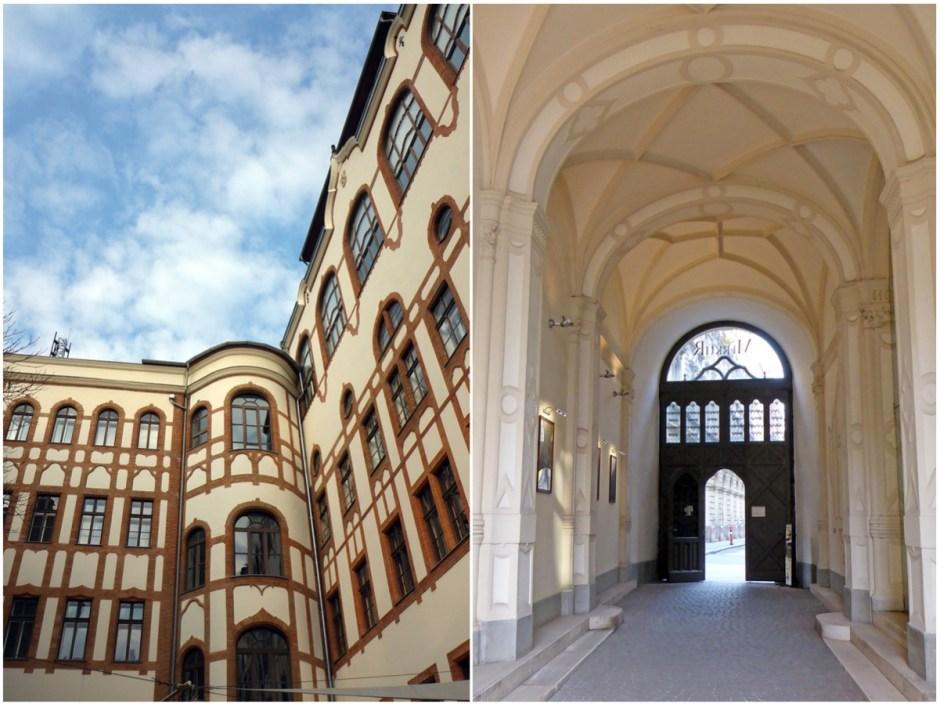 Quartier du Parlement- Entrée Secrète - Budapest