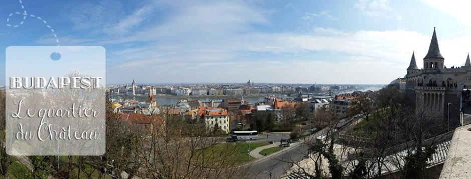 Panorama sur Budapest, vue du Bastion des pêcheurs