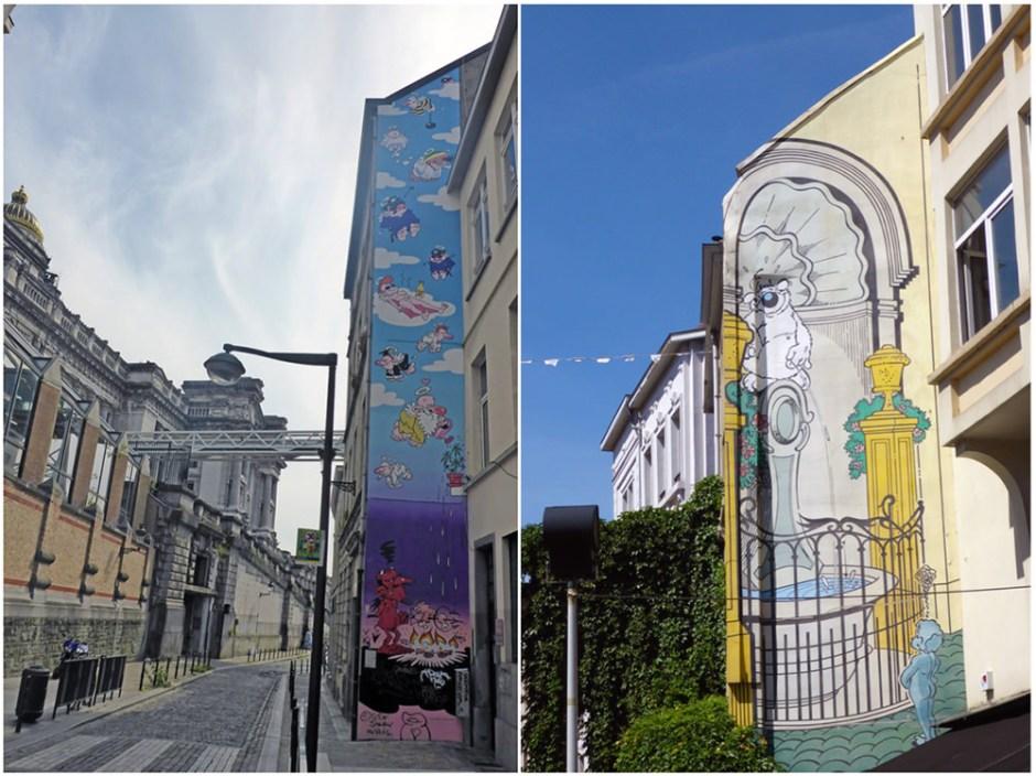 BD et Street Art à Bruxelles : Cubitus