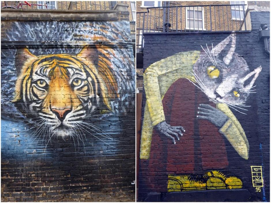 Fresque murale à Londres