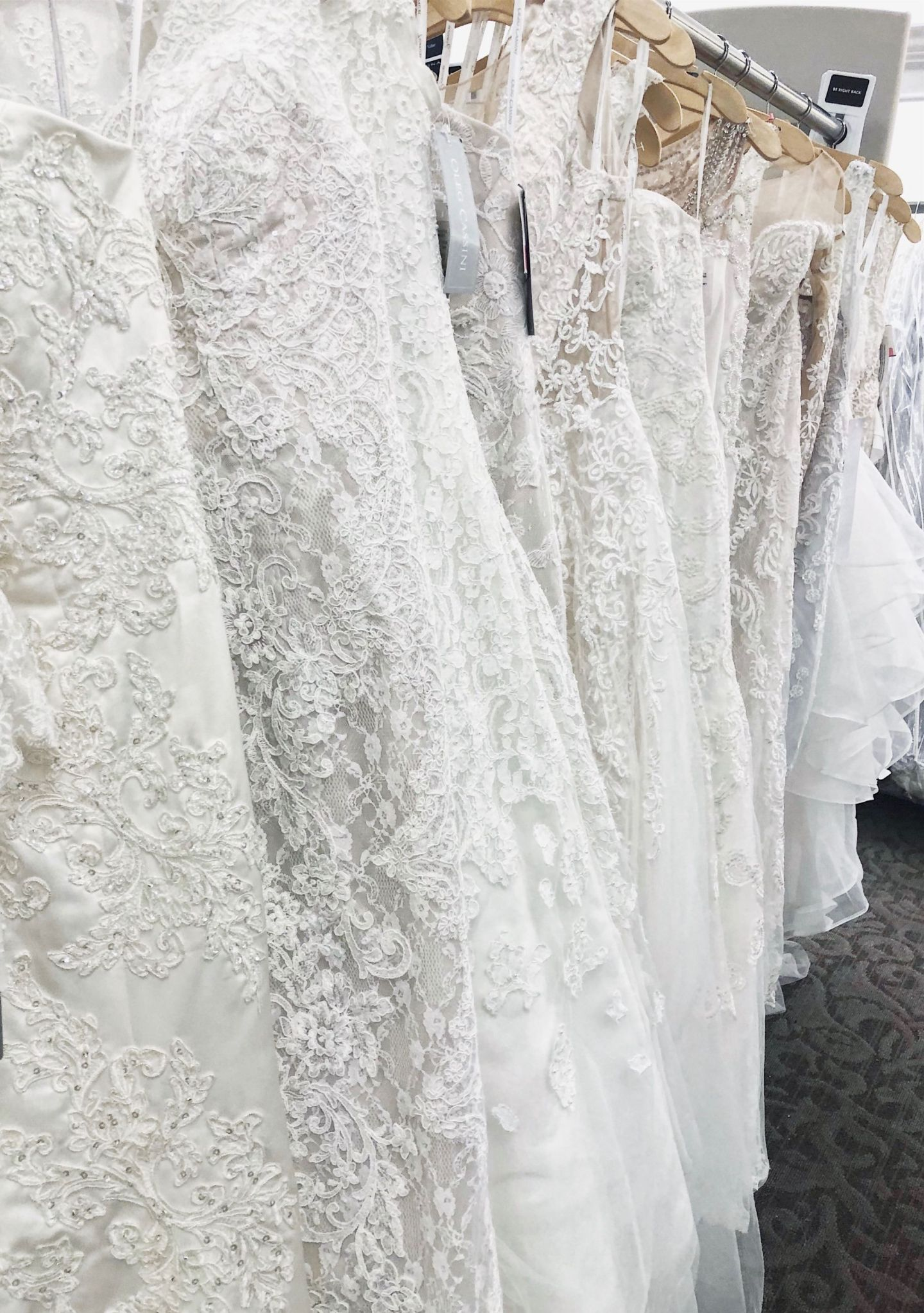First Time Wedding Dress Shopping at David\'s Bridal