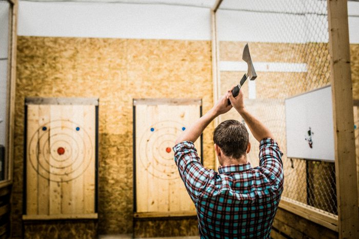 Urban Axe Throwing Comes to Ivy City