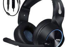 NUBWO Gaming Headset for Xbox One PS4 PC