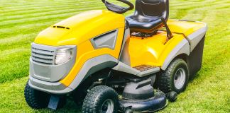 Used Lawn Tractor Mower