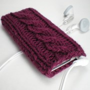 Knitted case for iPod Nano