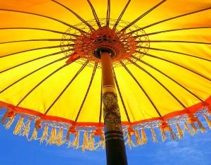 I Found The Sun Under The Umbrella