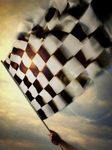 personshandwavingacheckeredflag