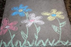 Easter sidewalk chalk (#2231)