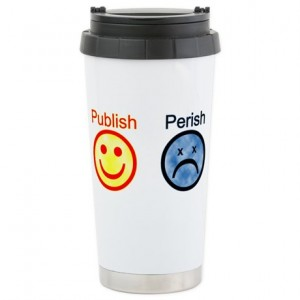 Two sides of the same coin...or, travel mug.