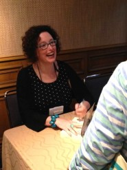 Lisa_first_booksigning