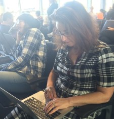 Writing in airports
