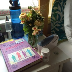 My daughter's sick day supplies