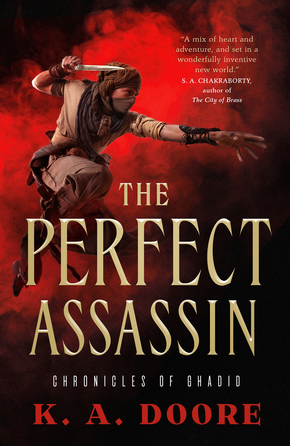 THE PERFECT ASSASSIN - K.A. Doore