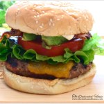 In the Kitchen:  Grilling Series – Bacon, Avocado Hamburger