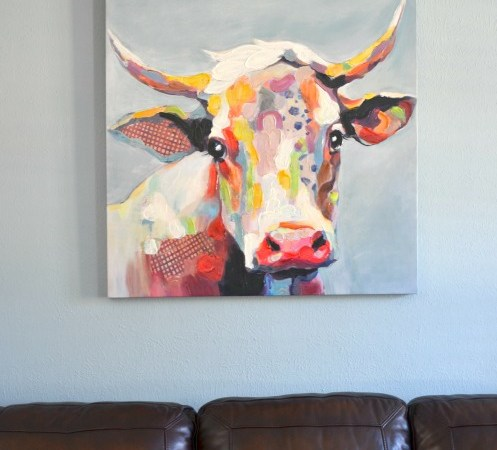 Meet Bessie the Cow – Country Glamour