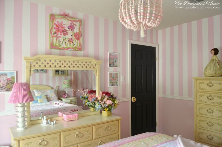 One Room Challenge - Little Girl's Bedroom Makeover
