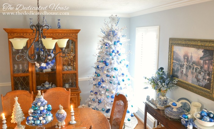 2016 Christmas Dining Room