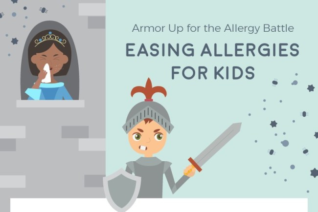 easing allergies kids