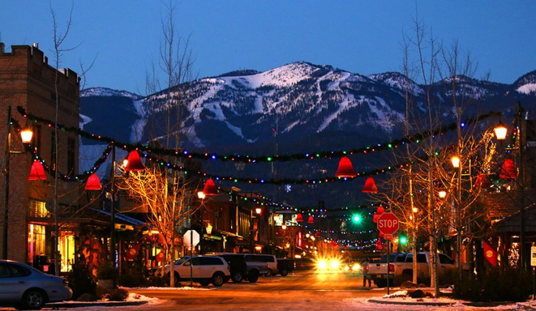 Christmas Towns.Eight Magical Montana Christmas Towns The Dedicated House