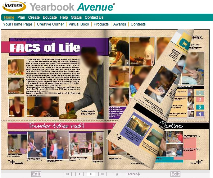Yearbook Page Layout Template  templates senior ad templates senior