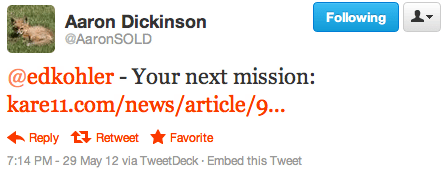 @edkohler - Your next mission: