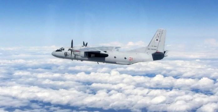 Fuerza aérea rusa An-26