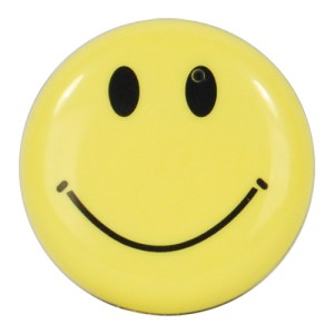 Mini Smiley Face Button
