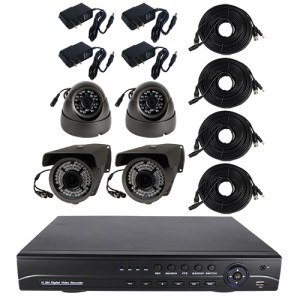HD 4 Channel Surveillance System