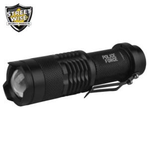 Police Force Mini Flashlight