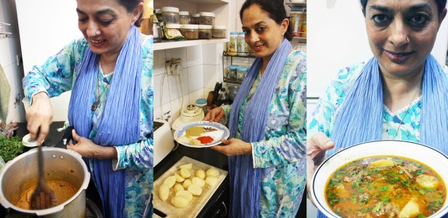 City Food – Julia Child Makes Aloo Salaan in Nizamuddin East
