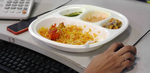 City Food - Keyboard Biryani, Around Town