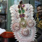 City Life - The Art of Currency Garland, Chitli Qabar Chowk