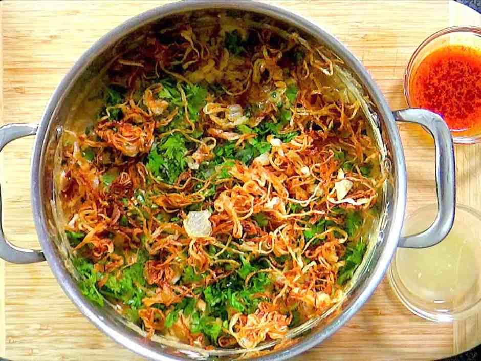 Easy Hyderabadi Chicken Biryani Prep