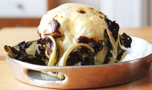 Make this impressive Whole Baked Cauliflower the main event at your next dinner party