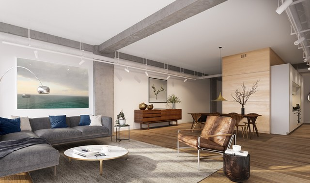 The development bringing loft-style warehouse living to Auckland