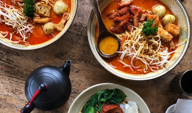Off the beaten track: this vegetarian cafe is one of Auckland's best kept secrets