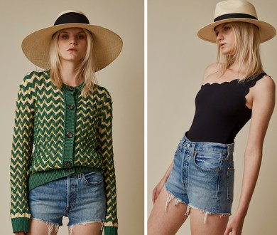 These new hats from Rebe have us buying into the wide brim for summer