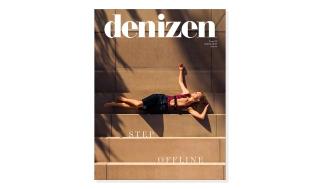 Take a step offline and pick up something more tangible, like our new autumn issue — out now