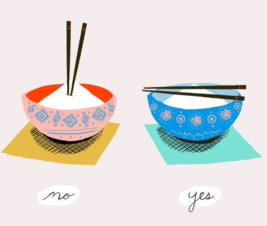 Dining Etiquette: What to say or do when eating another culture's cuisine