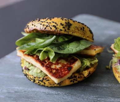 Recipe: We used the new Abe's Bagels flavour to create the ultimate office lunch